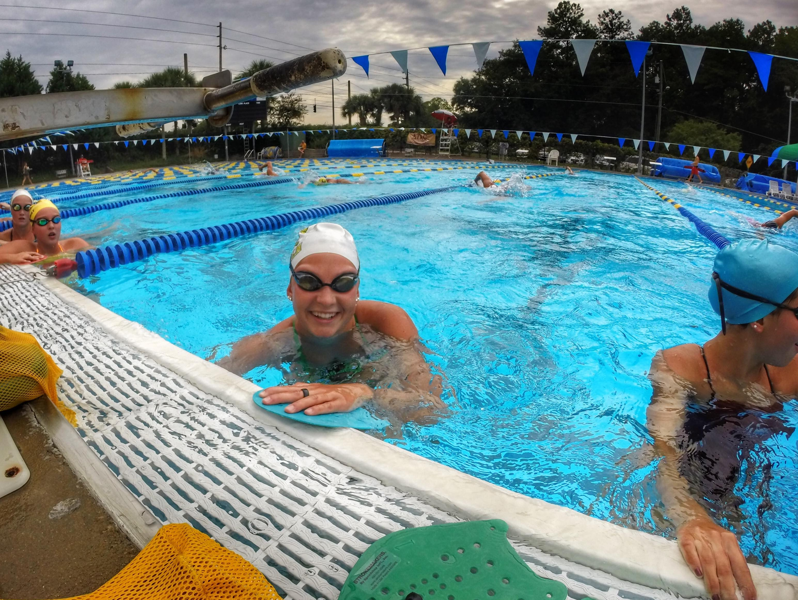 Lincoln junior Sara-Kellett Clark has been swimming year-round for the last eight years. She also holds a 3.7 GPA.