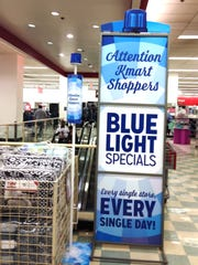 Kmart's fabled Bluelight specials will be announced