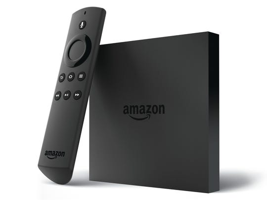 Amazon Fire TV con control remoto de voz.