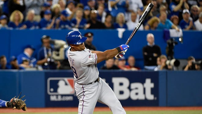 This might be Adrian Beltre's last season with the Rangers, but he's still really good.