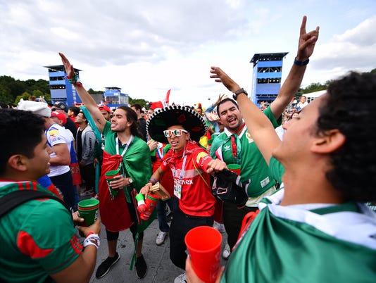 Russia v Saudi Arabia: Group A - FIFA Fan Festival