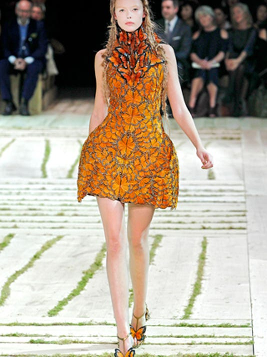 A dress from Burton's spring 2011 collection.