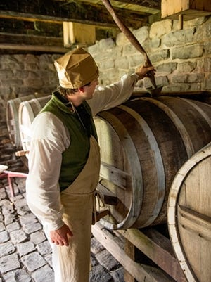 Visitors to Genesee Country Village and Museum in Mumford can tour a working brewery from the 19th century during the Hops Harvest Festival on Monday.
