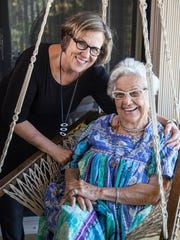 Fort Myers architect Joyce Owens and Elaine Walker,