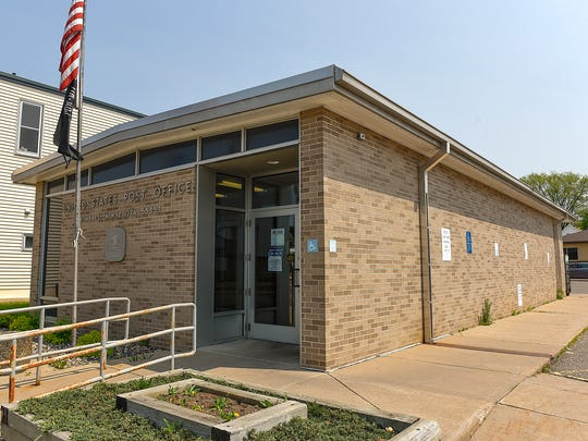 The United States Post Office Sunday, May 8, in Kimball.