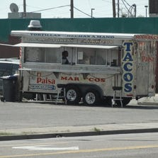 A woman is accused of selling methamphetamine out of this food truck.