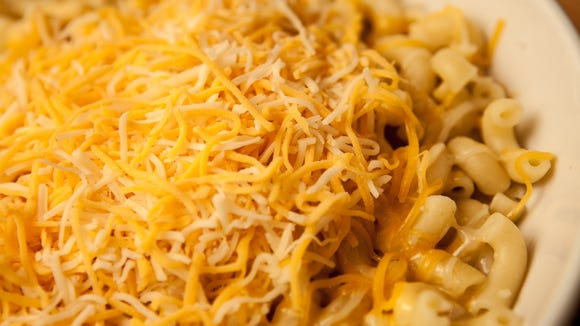 Noodles? & Company's Wisconsin Mac and Cheese, a blend of cheeses and elbow macaroni.