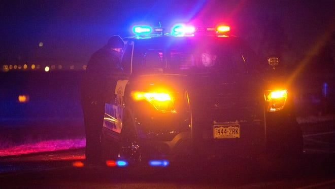 Fort Collins police investigate a crime scene in this file photo.
