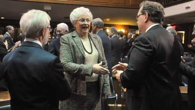 State Senator Patricia Miller, R-Indianapolis, is the author of legislation approved Thursday that requires approval from the General Assembly to make changes to Indiana's alternative Medicaid program.
