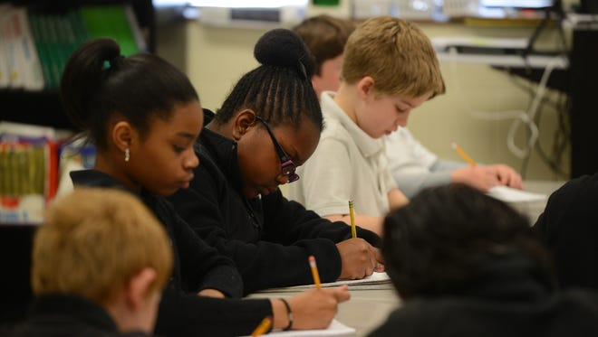 Tennessee improved reading proficiency among fourth-graders in 2014.