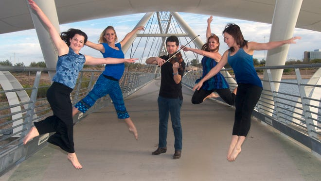 The Movement Source Dance Company will be performing 'Serendipity' at the Tempe Center for the Arts on May 16-17, 2014.