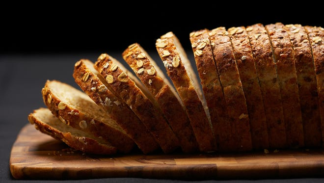 A sliced loaf of whole grain bread. A New York man is accused of stealing a bread truck in Manhattan on Monday, May 19, 2014.