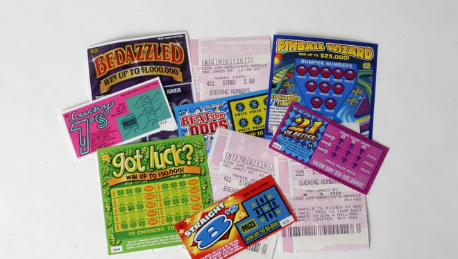 The New York Lottery is discouraging adults from buying scratch off tickets for children, saying it could lead to gambling problems later in life.