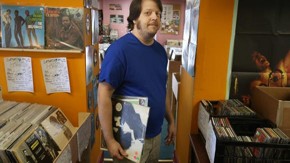 Steve Zimmerman, owner of Jupiter Records on Marsh Road, will open his store at 8 a.m. on Saturday.