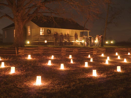 Memorial Luminary Tour at Wilson's Creek
