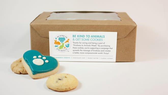 Be Kind to Animals Week is May 1-7 and to help raise awareness about being kind and compassionate to all animals the Free Roaming Feline Program is holding a cookie fundraiser.