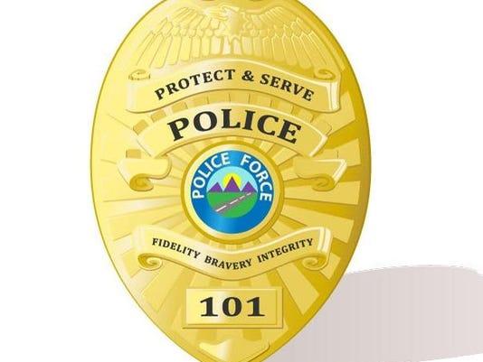 police badge stock