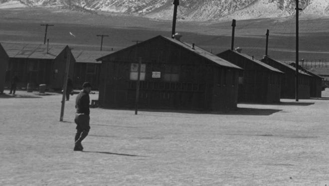 The Manzanar Relocation Center was built in 1942 after President Franklin Roosevelt signed an order that authorized the military to remove Japanese Americans from the West Coast.  Today, it's a National Historic Site that raises issues of how Americans treat racial minorities and immigrants.
