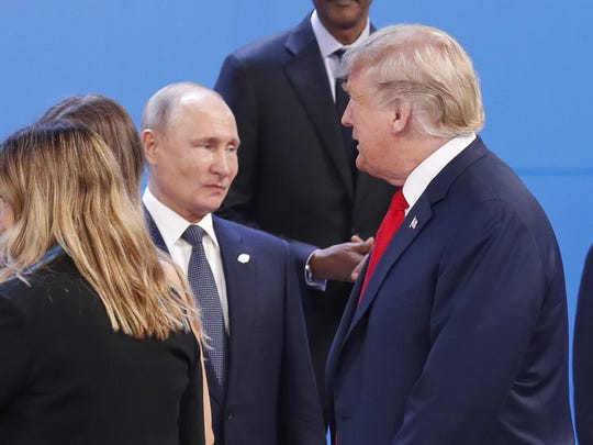"President Donald Trump and Russia's Vladimir Putin discussed what Trump again dismissed as the ""Russian Hoax"" in their first known phone call since the release of special counsel Robert Mueller's report on Russia's extensive meddling during the 2016 election campaign. Putin chuckled about Mueller's conclusions, Trump said."