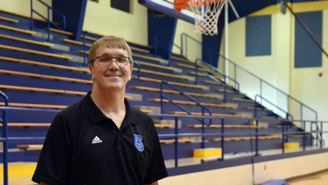 Sumrall boys basketball coach Lee Ready has been named the 2015-16 All-Area Boys Basketball Coach of the Year.