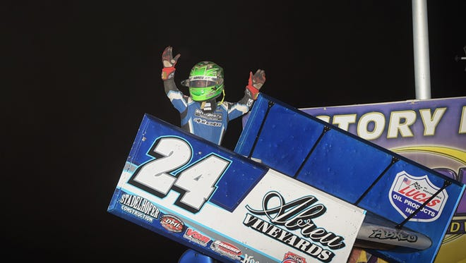 Rico Abreu has already set a career high with 15 sprint car wins this year — and the list includes some big victories.