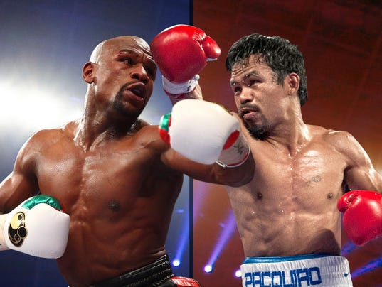 It's official: Floyd Mayweather, Manny Pacquiao to fight on May 2