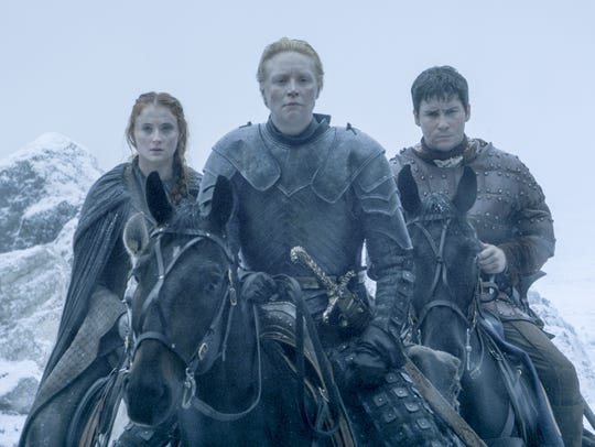 Sansa, Brienne and Podrick make it to The Wall (episode