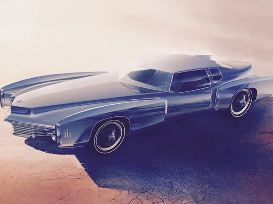 Roger Hughet, dated 1968 Oldsmobile Toronado
