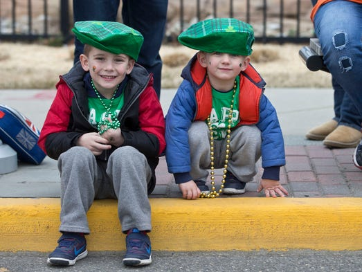 Brycen Conley, 5, and his brother Lucas Conley, 2,