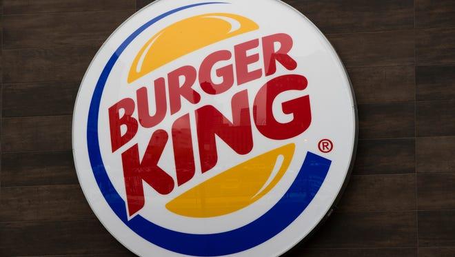 The Burger King logo.