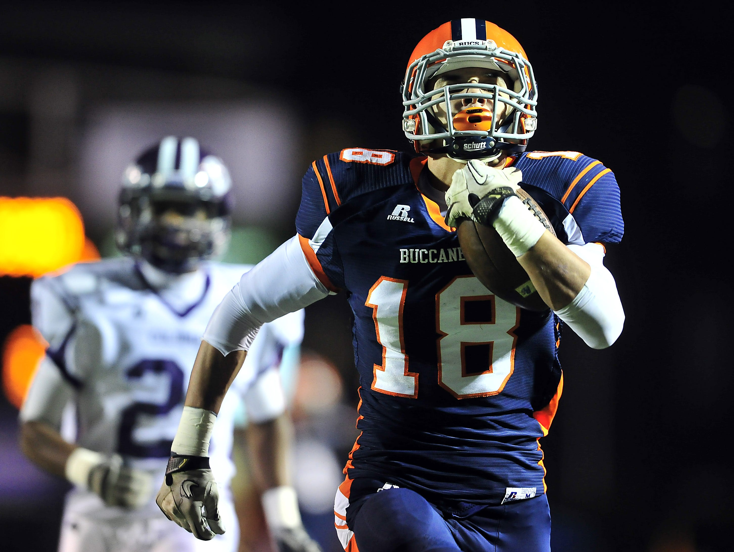 Jalen Hurd (18), in his playing days at Beech.