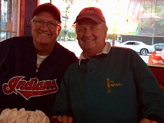 Kevin McManus (left) was a funeral director for 48