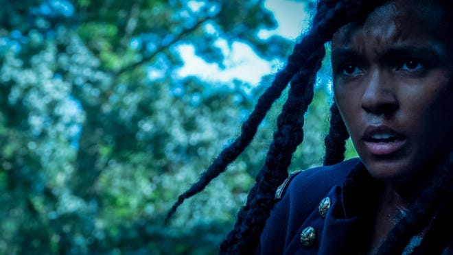 """Janelle Monáe plays a couple of roles in """"Antebellum."""" Or does she?"""