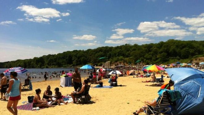 Lake Welch on a late June weekend. ((Photo: Nancy Cutler/The Journal News))