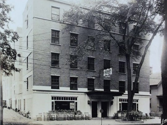 The Hotel Roosevelt was located in the 300 block of Seymour Street, circa 1925.