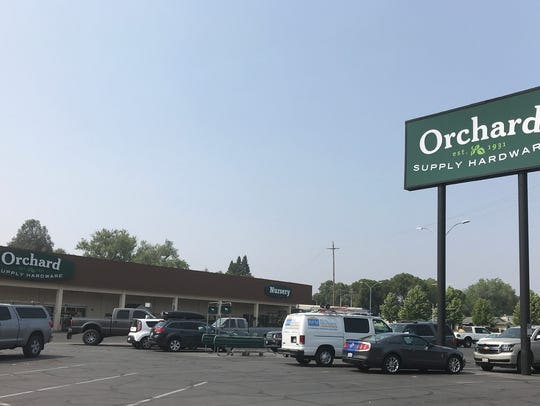 The Orchard Supply Hardware Store in Redding opened