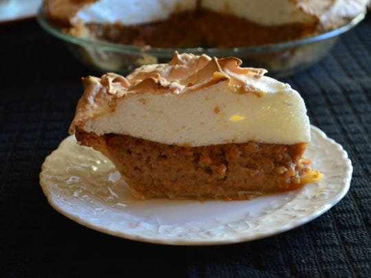 Transform ordinary sweet potato pie into something