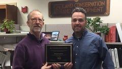 Turner awards state employee for floodplain efforts