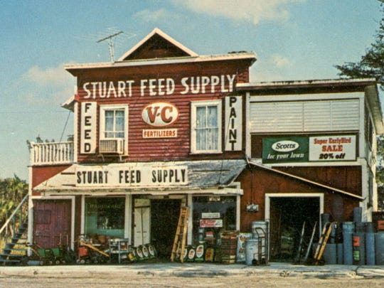 The building the Stuart Heritage Museum calls home was the Stuart Feed Store in 1946.
