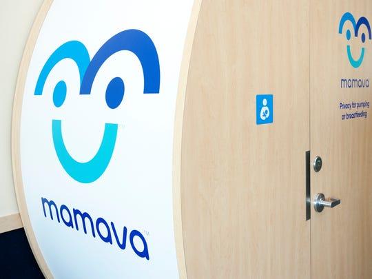 The first Mamava lactation station at Burlington International