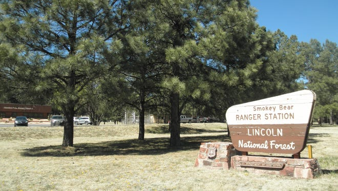 Smokey Bear Ranger District office in Ruidoso