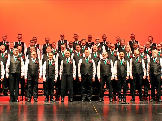 """The Palm Springs Gay Men's Chorus is launching its 20th Anniversary Season with """"Men in Tights – A Holiday Spectacular."""""""