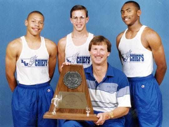 Former Lake View High School track and field coach