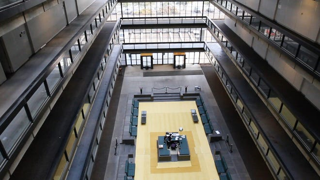 A 2015 file photo shows the interior of Bell Works in Holmdel.