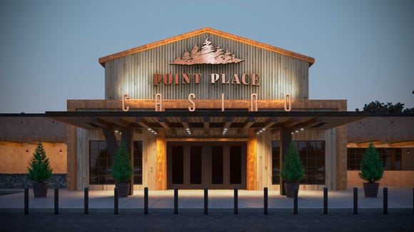 The Oneida Nation in central New York plans to open its third casino in the region in 2018, the Point Place Casino, adding to an already crowded casino market in upstate New York. This is a rendering of the facility near Syracuse