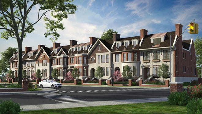The $2 million per townhouse Westbrown development in Birmingham is aimed at empty nesters.
