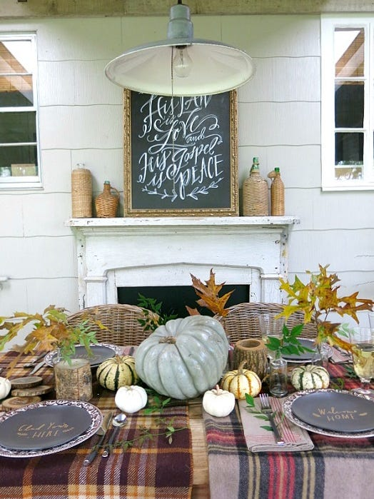 Style Scout: Bring On The Fall Decor!