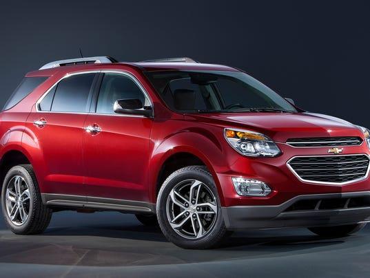 2016 Chevrolet Equinox LTZ Front 3/4