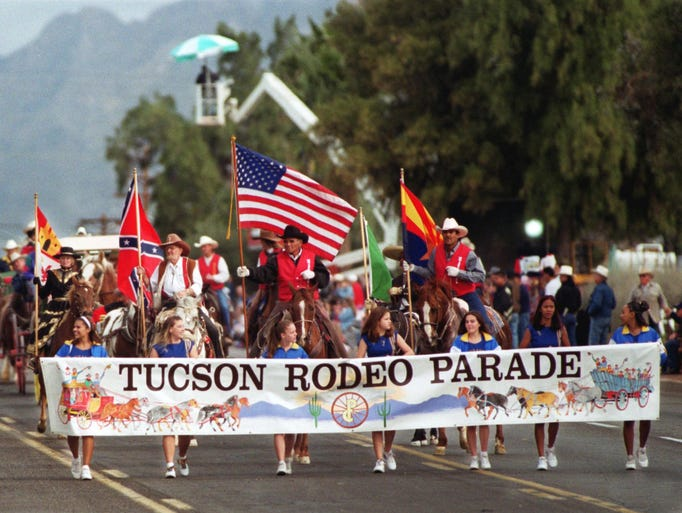 2/26: Tucson Rodeo Parade: Billed as the world's longest