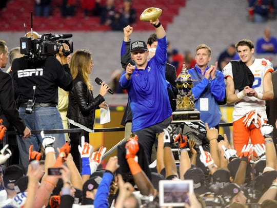 Coach Bryan Harsin and Boise State should be in contention for a New Year's Six Bowl again.